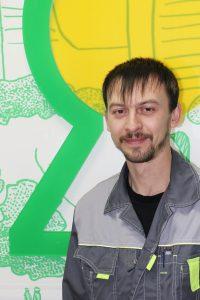 Харламов Александр Викторович - старший слесарь-сантехник
